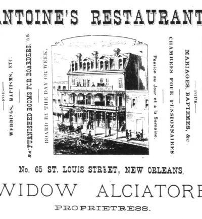 Antoine's Restaurant poster