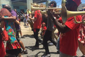 Red Second Line