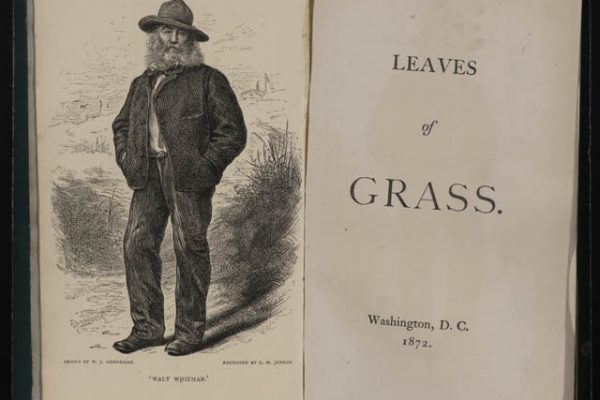 Walt Whitman's LEAVES OF GRASS, inspired by his experience in New Orleans